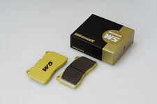 Winmax W5 Rear Brake Pad For TELSTAR, TELSTAR II 10.91- CG2RF,GESRF,GFER,GFERF