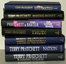 7 x Terry Pratchett Hardback Books, Various Titles, Collectable Collection.