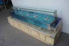 Open Box! 1/2 Pans 5 Well Food Warmer Steamer Warming Tray Kitchen Equipment