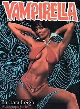 OFFICIAL WEBSITE Barbara Leigh VAMPIRELLA Trading Card Series #BL1 AUTOGRAPHED