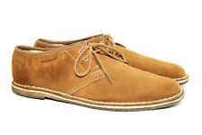 Mens Clarks Originals Suede Cola Brown Shoes UK 10 F  US 11 D Eu 46 £100