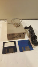 Atari Supra Hard Drive Disk 2 Disks Powers up 20MB AS-IS Vintage ST Miniscribe