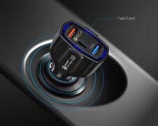 Cargador de coche 35W Usb C PD entrega de potencia 3.0 USB una carga rápida para MacBook iPad