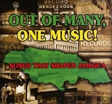Va-out of many, one Music-Songs That Shaped Jamaica - 3 CD Album