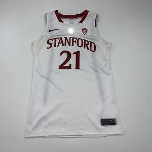 Womens Nike Stanford Cardinal Sara James Basketball Jersey Size 46 SIGNED NO COA