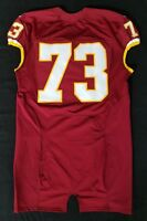 #73 of Washington Redskins NFL Locker Room Game Issued With No Nameplate Jersey