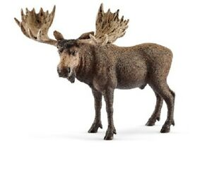Schleich 14781 Elk Bull 5 1/8in Series Wild Animals
