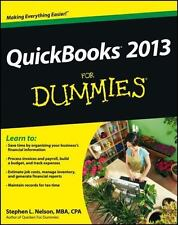 QuickBooks 2013 for Dummies by Stephen L. Nelson (2012, Paperback)