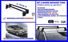 68.003 BARRE PORTATUTTO PORTAPACCHI FORD S-MAX DAL 2006 G3 PACIFIC