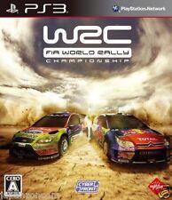 Used PS3 WRC: FIA World Rally PLAYSTATION 3 SONY JAPAN JAPANESE IMPORT