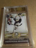 Sidney Crosby BGS 9.5 GM-MT RC 1st Goal 2005-06 Upper Deck Phen-Beg Penguins