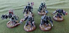 Warhammer 40k Chaos Space Marines Terminators painted