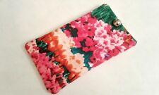 Flower Field Eyeglass Sunglass Soft Fabric Case Handmade pouch sunglasses 7'