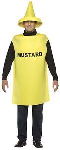 MUSTARD COSTUME ADULT