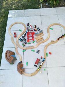 Wooden Train Track Sets And Trains Plus Thomas Battery Trains, Chuggington