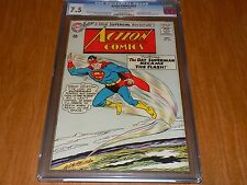 Action Comics #314 (1964) CGC 7.5 - Origin of Supergirl, Flash, Superman - WOW!