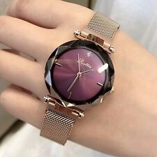 Luxury Brand lady Crystal Watch Magnet buckle Women Dress Watch Fashion Quartz