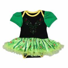 Newborn Baby green ANNA Princess Queen Cosplay Costume Grils Fancy tutu Dress