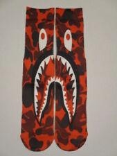 warplane red camo socks BUY any 3 GET 4TH PAIR FREE pop culture ODD SOX BAPE
