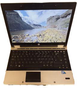 """HP EliteBook 8440p Core I5-vPro M520 , 2.4GHz 14"""" Laptop 6GB/128GB SSD Win-10 HD"""
