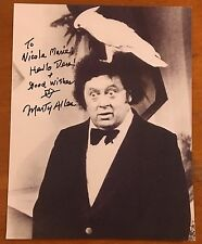Marty Allen,100% Authentic Autographed Photo, Comic Legend, 95 Years Old