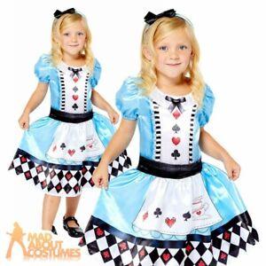 Kids Alice Sustainable Costume Wonderland Fairytale Book Week Fancy Dress Outfit