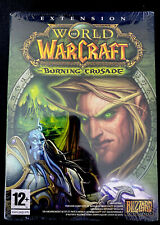 RARE NEW SEALED French Version World of Warcraft Burning Crusade France