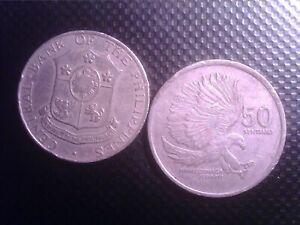 PHILIPPINES   50   SENTIMO   1966   1989      SEP17F