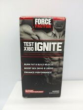 Force Factor Test X180 Ignite Test Booster Capsules, 60 Ct. Exp 09/21