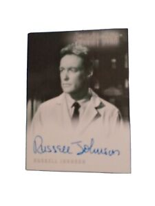 Russell Johnson Autograph A-45 from The Twilight Zone Series 3, 2002