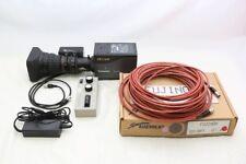 "Panasonic AK-HC1500 2/3"" Multiformat HD Convertible camera with 18X Fujinon lens"