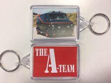 The A-Team Van & Logo ~ Keyring 50mm x 35mm