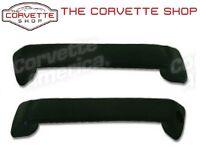 C3 Corvette Interior Door Handle Inner Pulls Pair - Black 1969-1977 428920 Pull