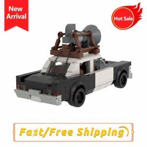 MOC Blues Brothers Mobile Cars Model Building Block Bricks Kids Assemble Toys