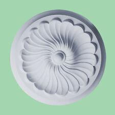 Petit Beau orné blanc Plafond rose disque Décor Victorien Médaillon CR5