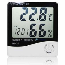 Digital LCD Indoor/Outdoor Thermometer Hygrometer Temperature Humidity Meter KJC