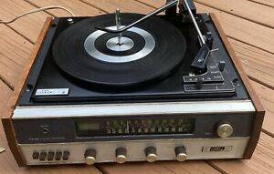 Vintage THE FISHER Model 115 Stereo AM FM Receiver Turntable Audio Amplifier