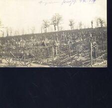 (a57728)   Fotoansicht Friedhof in den Argonnen Infanterieregiment 127 , 1.