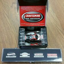 Craftsman Die-Cast Funny Car & 4 Piece Pin Set 75th Anniversary You Get Both!!