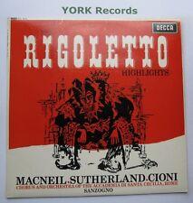 Sxl 6008-Verdi-Rigoletto destaca Macneil/Sutherland-ex con Disco Lp