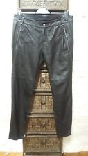 Diesel Black Gold Leather Trousers  Size 44 / Waist 36
