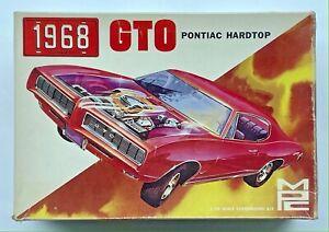 1968 GTO Pontiac Hardtop Kit 1/25 MPC 1168-200 BUILT