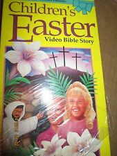 CHILDREN'S EASTER VIDEO BIBLE STORY $3.99 VHS  30 MINUTES