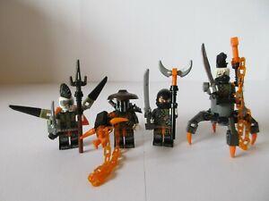 LEGO NINJAGO MINIFIGS Dragon Hunters FAITH SKULLBREAKER JET JACK & DADDY NO LEGS