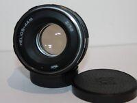 Helios 44M 58mm f2 Standard Manual Prime Lens Pentax M42 Screw Mount