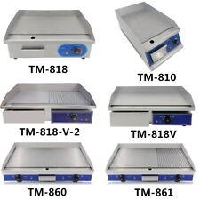 Elektrische Grillplatte Grilldleplatte Bratplatte Elektro Grillplatte Gastro NEU