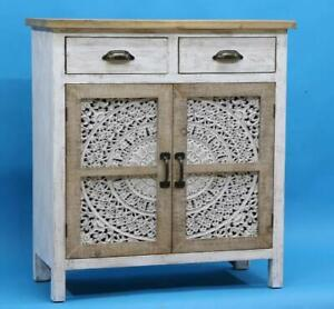 Retro Vintage CABINET With 2 DRAWERS brand new