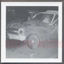 Vintage Photo Unusual 1969 Chevrolet Chevy Truck Wreck 758449