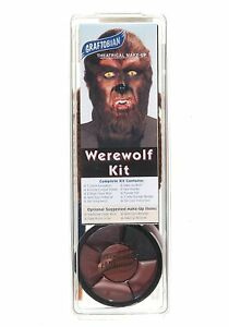 Deluxe Werewolf Makeup Kit