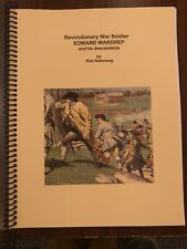 Revolutionary War Soldier Edward Wardrep and his descendants genealogy book NEW